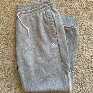 Gray Adidas Joggers - worn a couple times